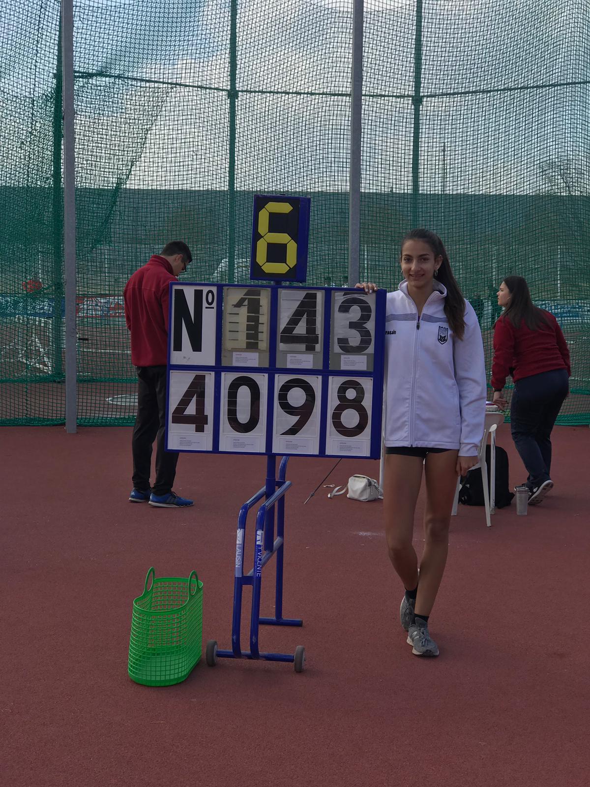 Foto cedida por Federación Madrileña de Atletismo